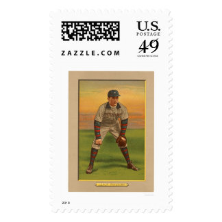 Tommy Leach Pirates Baseball 1911 Stamp