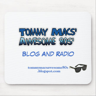 Tommy Macs' Awesome 80s' Promotional Mouse Pad