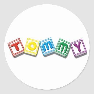 Tommy Pegatina Redonda