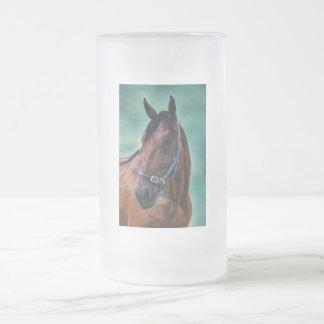 Tommy Standardbred Horse Art Mugs