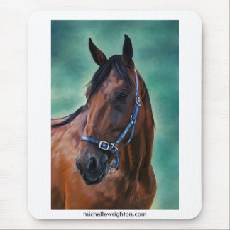 Tommy Standardbred Horse Mouse Mat