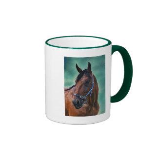 Tommy, Standardbred Horse Ringer Mug
