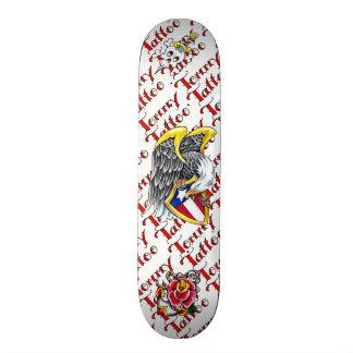 Tommy Tattoo Flash Skateboard