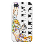 Tommy Tattoo Pin-Up IPhone Case Cases For iPhone 4