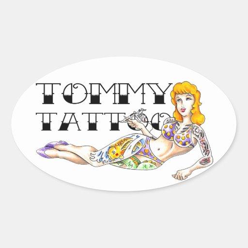 Tommy Tattoo Sticker