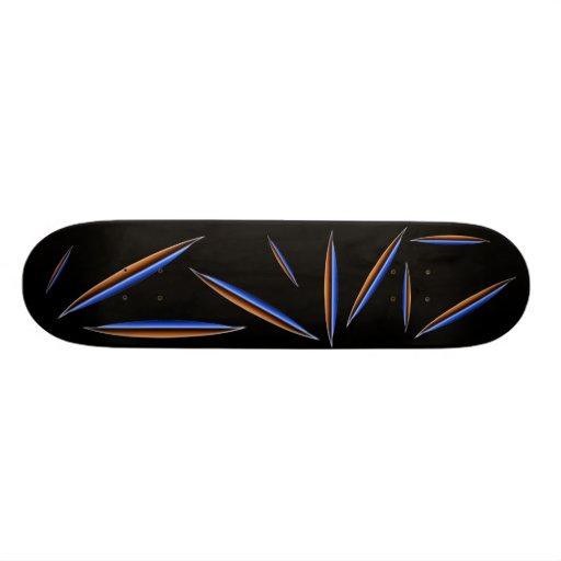 Tommy Ten Saucers-_-An Mj12club* Exclusive! Custom Skateboard
