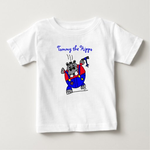 Tommy the Hippo Hoodie