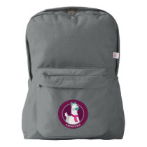 Tommy the Llama American Apparel™ Backpack