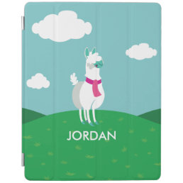 Tommy the Llama iPad Smart Cover