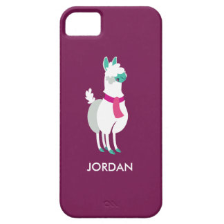 Tommy the Llama iPhone 5 Cases