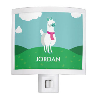 Tommy the Llama Night Light