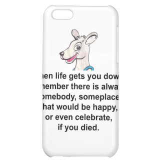 Tommy The Terrible Kangaroo 1 iPhone 5C Case