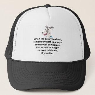 Tommy The Terrible Kangaroo 1 Trucker Hat