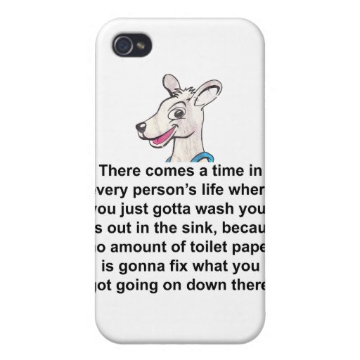 Tommy The Terrible Kangaroo 2 iPhone 4 Case