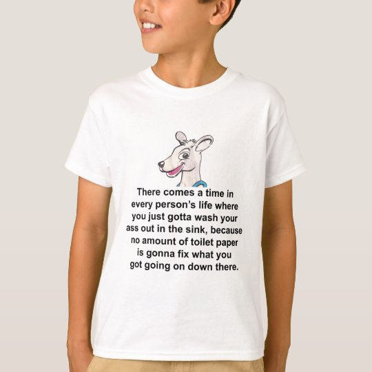 Tommy The Terrible Kangaroo 2 T-Shirt