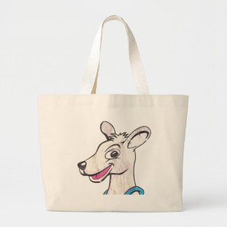 Tommy The Terrible Kangaroo Picture Canvas Bag