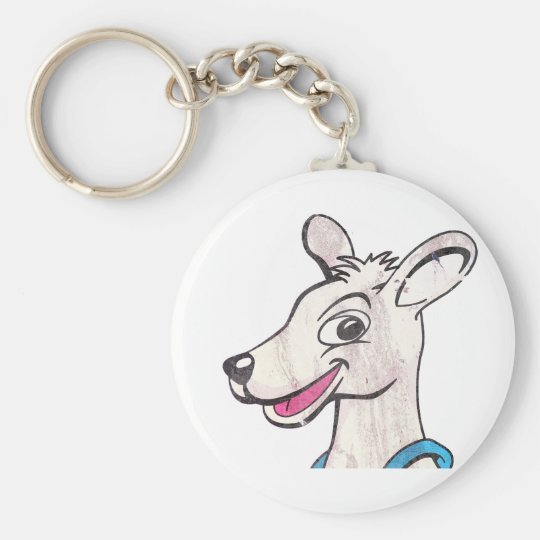 Tommy The Terrible Kangaroo Picture Keychain