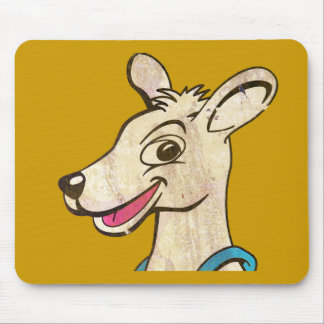 Tommy The Terrible Kangaroo Picture Mouse Pad