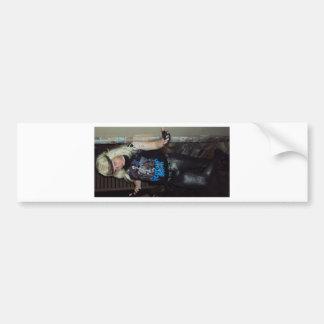 tommy thundah bumper sticker