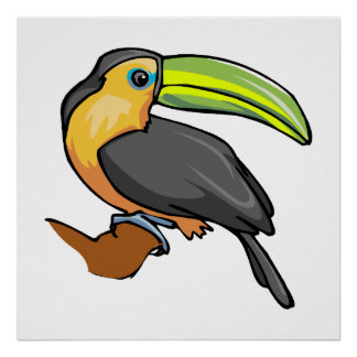 Tommy Toucan Print