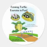 Tommy Turtle Sticker