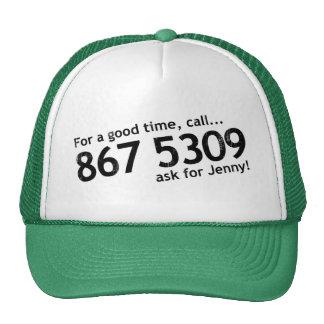 Tommy Tutone 867 5309 Trucker Hat