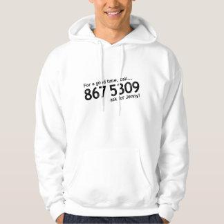Tommy Tutone 867 5309 Hoodie