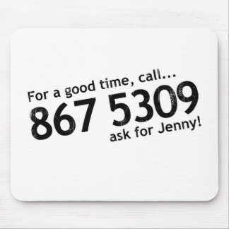 Tommy Tutone 867 5309 Mouse Pad