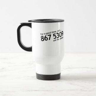 Tommy Tutone 867 5309 Travel Mug