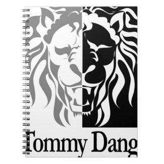TommyDangerMuD25cR00aP01ZQ_black Spiral Notebook