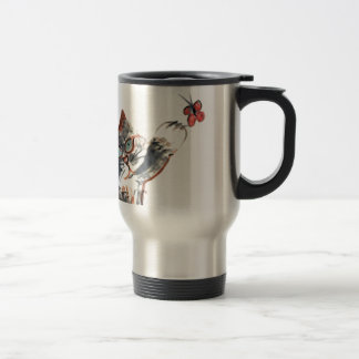 Tommy's Butterfy Tag Travel Mug