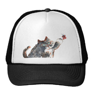 Tommy's Butterfy Tag Trucker Hat