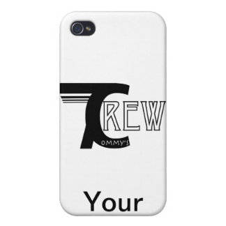 Tommy's Crew Customizable iPhone Cases iPhone 4/4S Cover