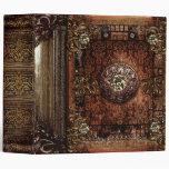 """Tomo antiguo medieval de la imitación de cuero carpeta 2"""""""