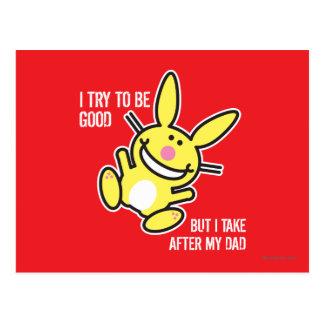 Tomo después de mi papá tarjetas postales