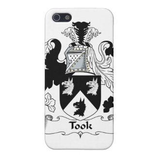 Tomó el escudo de la familia iPhone 5 protectores