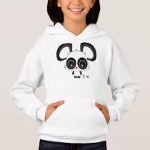 "Tomo the panda ""Child"" in Japanese Hoodie"