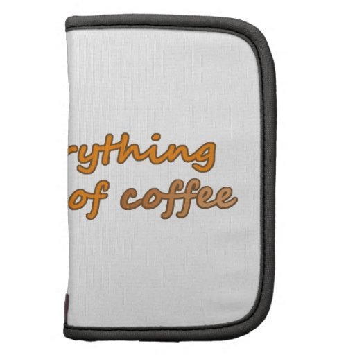 Tomo todo con un pedazo del café (© Mira) Planificadores