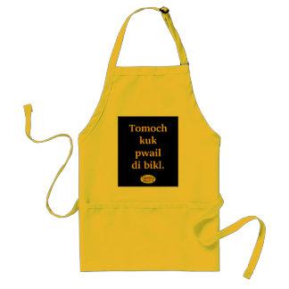 Tomoch kuk adult apron