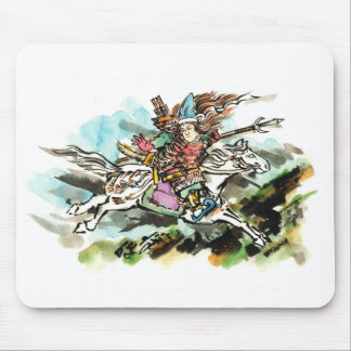 Tomoe Gozen/巴 Misaki Mouse Pad