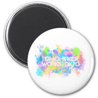 TOMOHIROCK-WORKS REFRIGERATOR MAGNET