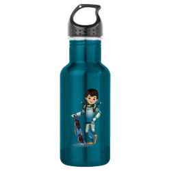 Water Bottle (24 oz) with Tomorrowland Transit Authority Logo design
