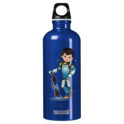 SIGG Traveller Water Bottle (0.6L) with Tomorrowland Transit Authority Logo design