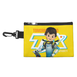Clip On Accessory Bag with Tomorrowland Transit Authority Logo design