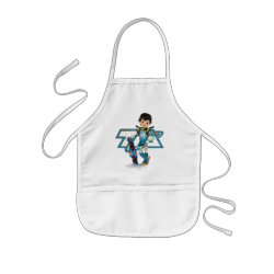 Kid's Apron with Tomorrowland Transit Authority Logo design