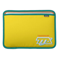 Macbook Air Sleeve with Tomorrowland Transit Authority Logo design