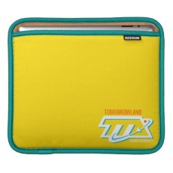 iPad Sleeve with Tomorrowland Transit Authority Logo design