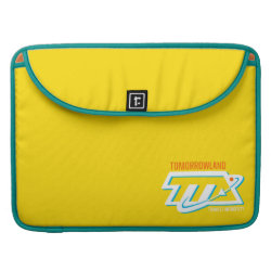 Macbook Pro 15' Flap Sleeve with Tomorrowland Transit Authority Logo design
