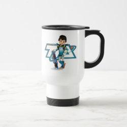 Travel / Commuter Mug with Tomorrowland Transit Authority Logo design