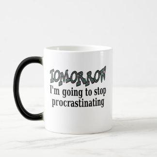 Tomorrow...I'm going to stop procrastinating Magic Mug